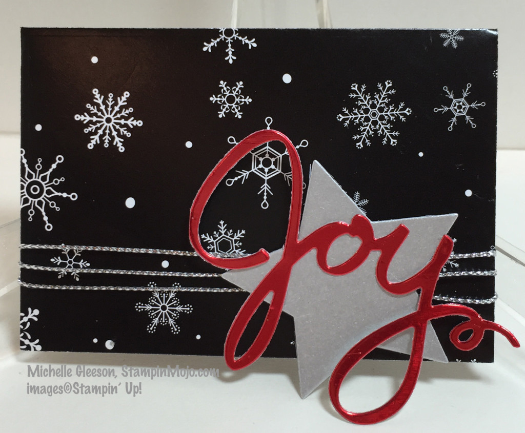Gift Card Envelope, Wonderful Wreath Framelits, Winter Wonderland, StampinMojo