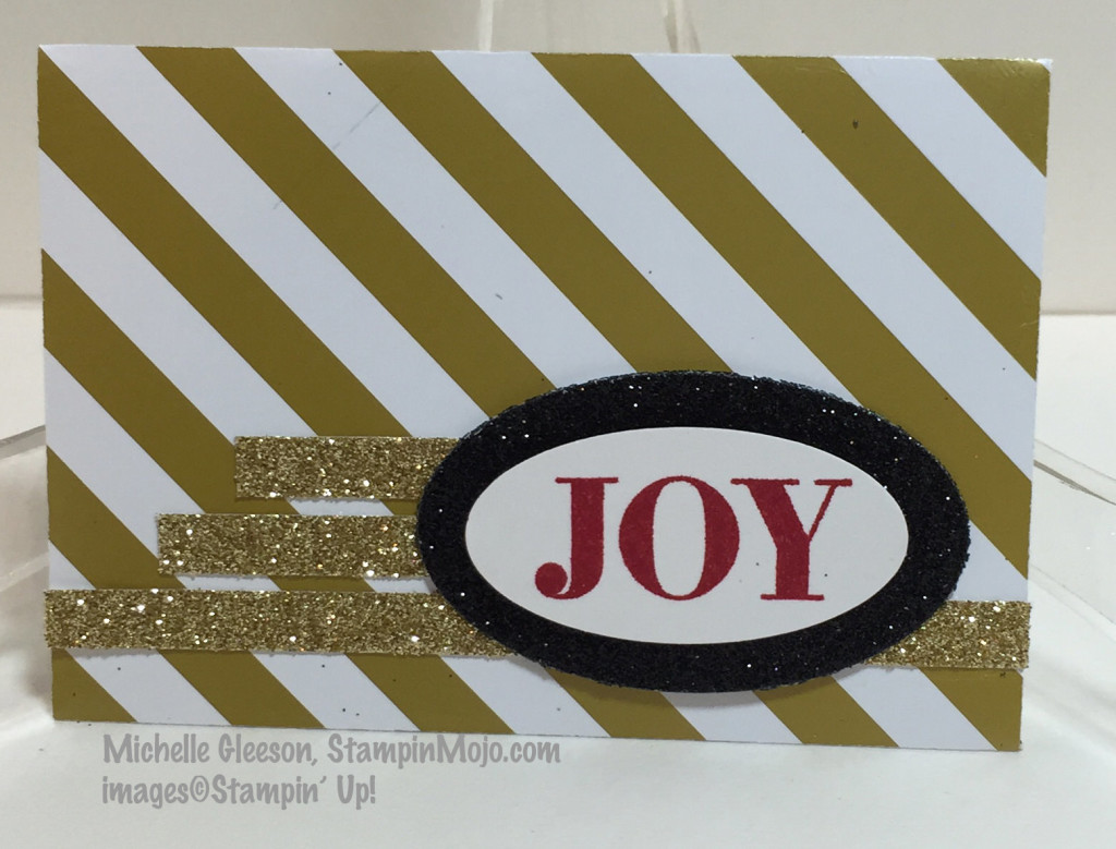 StampinMojo, Winter Wonderland, Gift Card Envelope, Holly Jolly Greetings