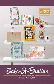 2016 Sale-A-Bration Catalog