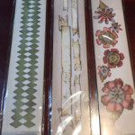 Harlequin Border $12.00 - Tattered Banners $12.00 - Tattered Garden Garland $12.00