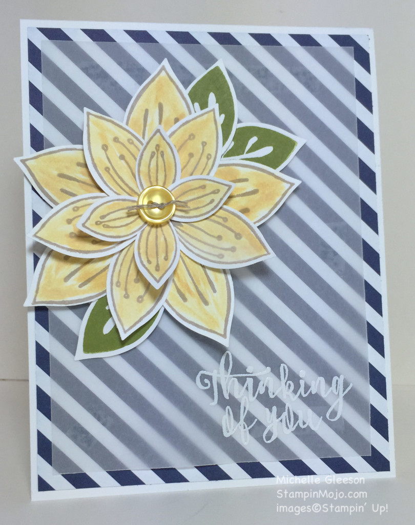 Friends & Flowers, StampinMojo, Michelle Gleeson, Pals Blog Hop February 2016