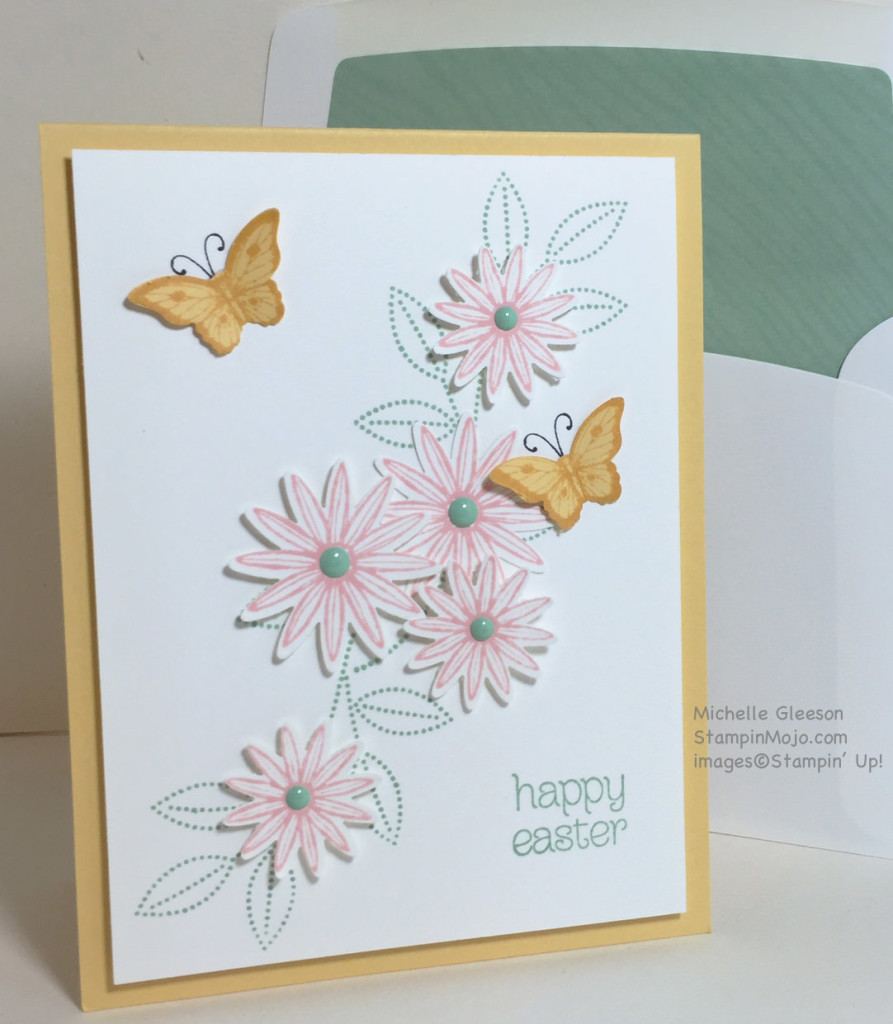 StampinMojo, PPA293, Grateful Bunch Easter card
