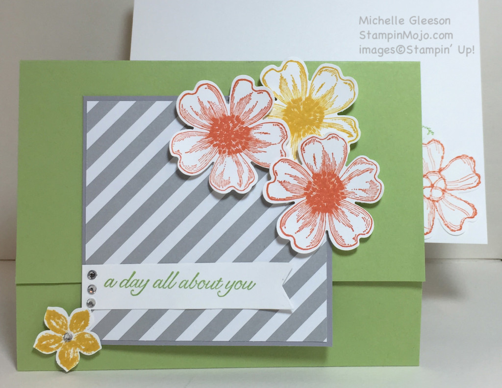 StampinMojo, Michelle Gleeson, Flower Shop, #imbringingbirthdaysback