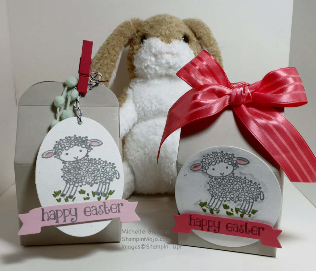 StampinMojo, March 2016 Pals Blog Hop, Easter Lamb, All Boxed Up Kit