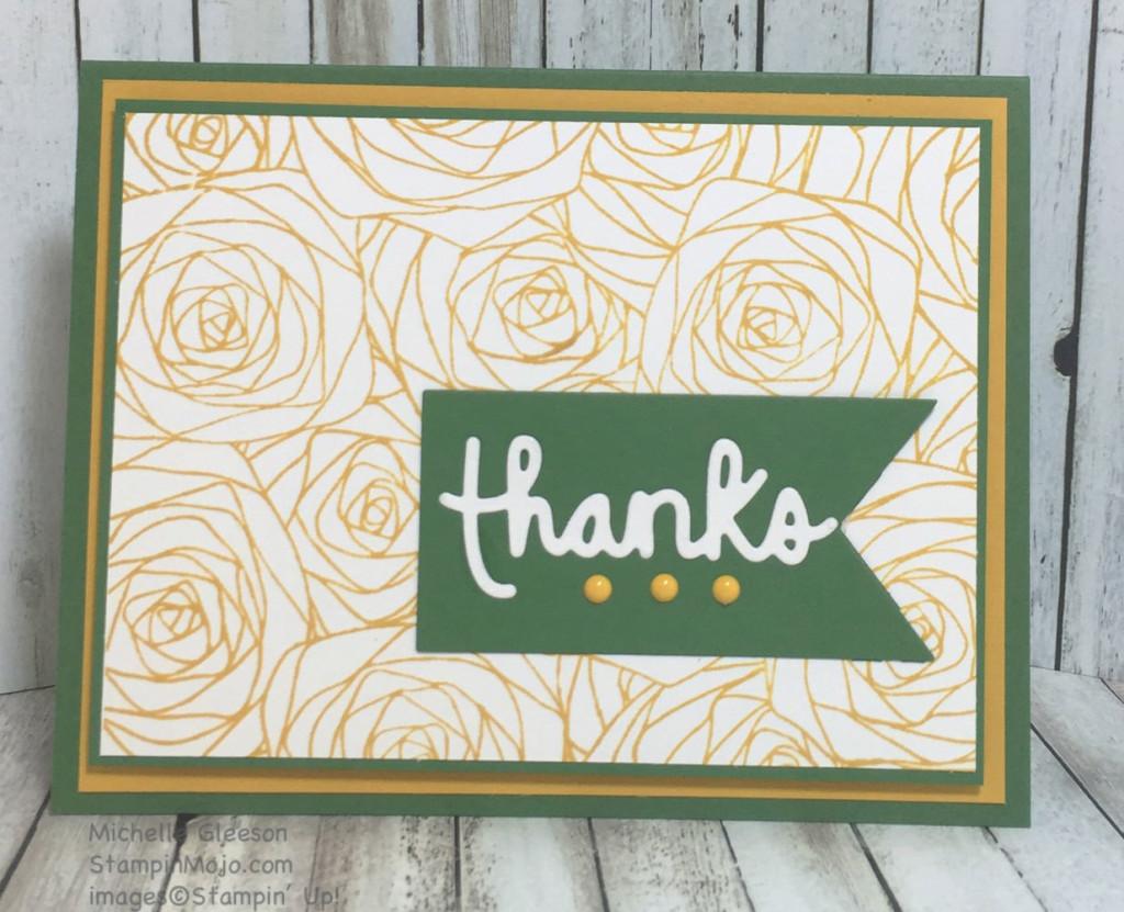 StampinMojo, Thank you card