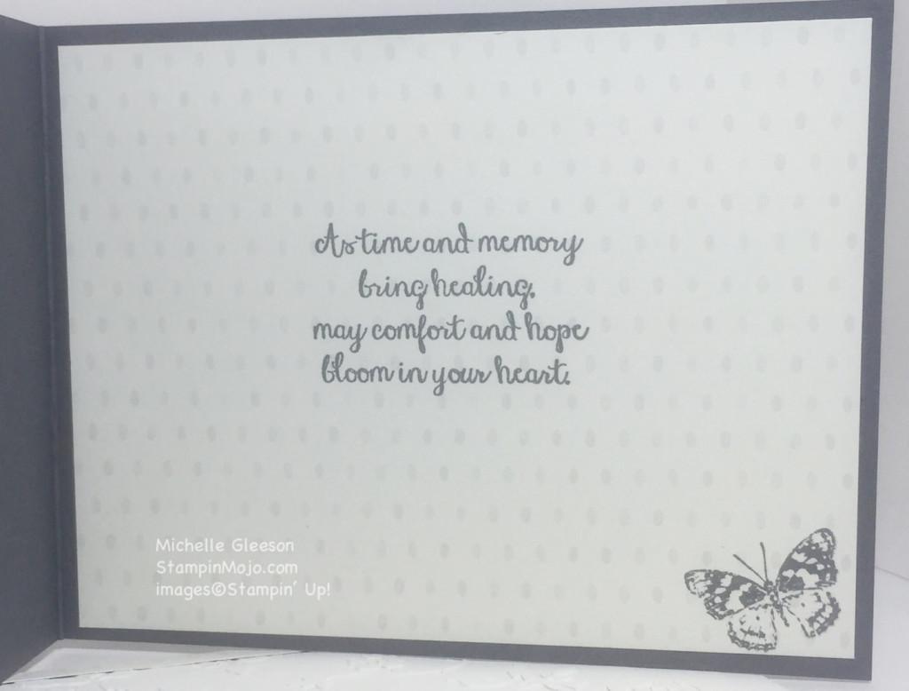 StampinMojo, Timeless Elegance, PPA296, Sympathy Card