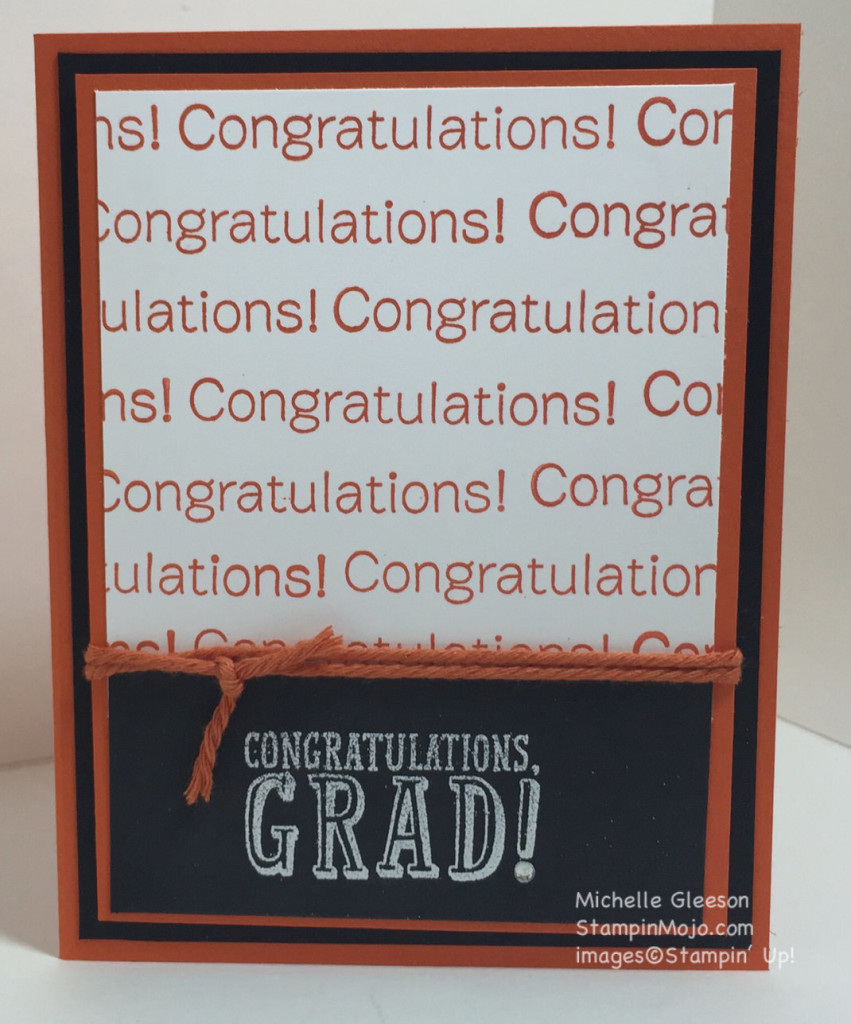 StampinMojo, graduation card, Pals blog hop