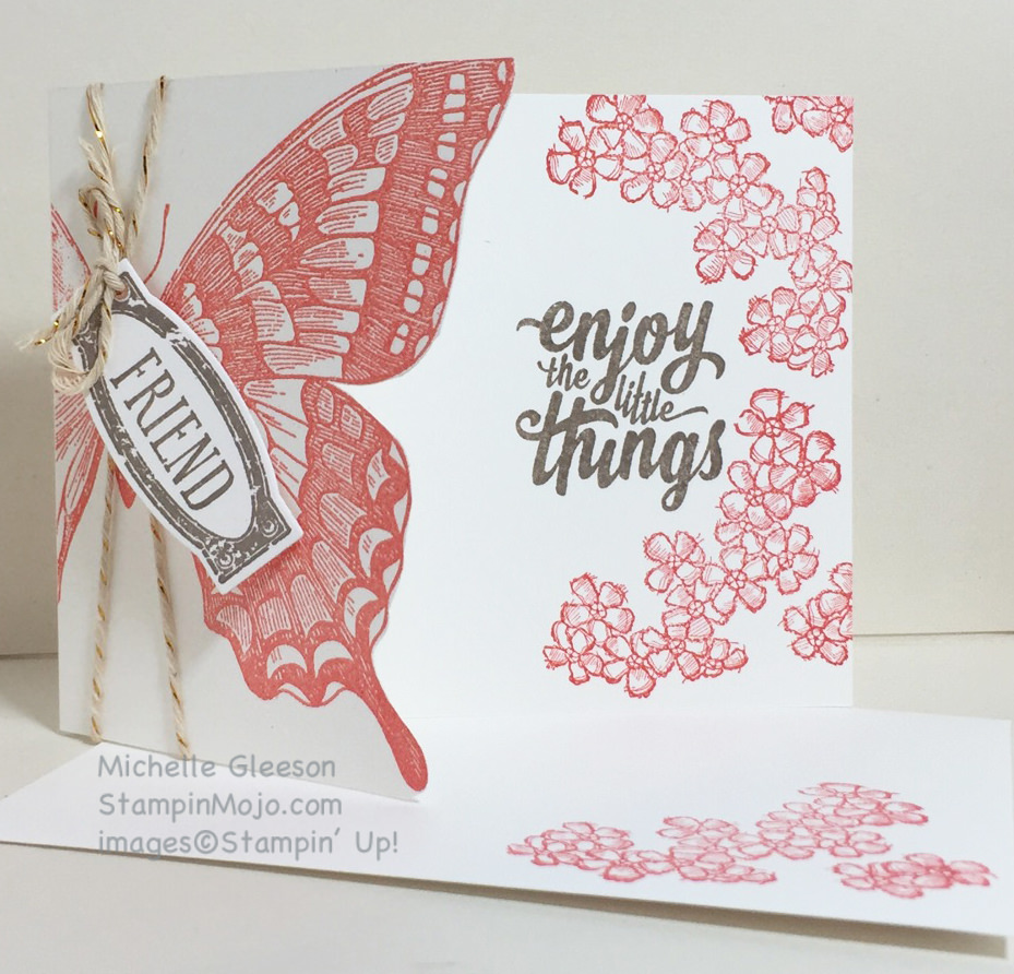 StampinMojo, Swallowtail, Embossing, Awesomely Artistic