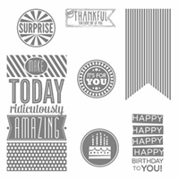 Amazing Birthday Clear Mount Stamp Set