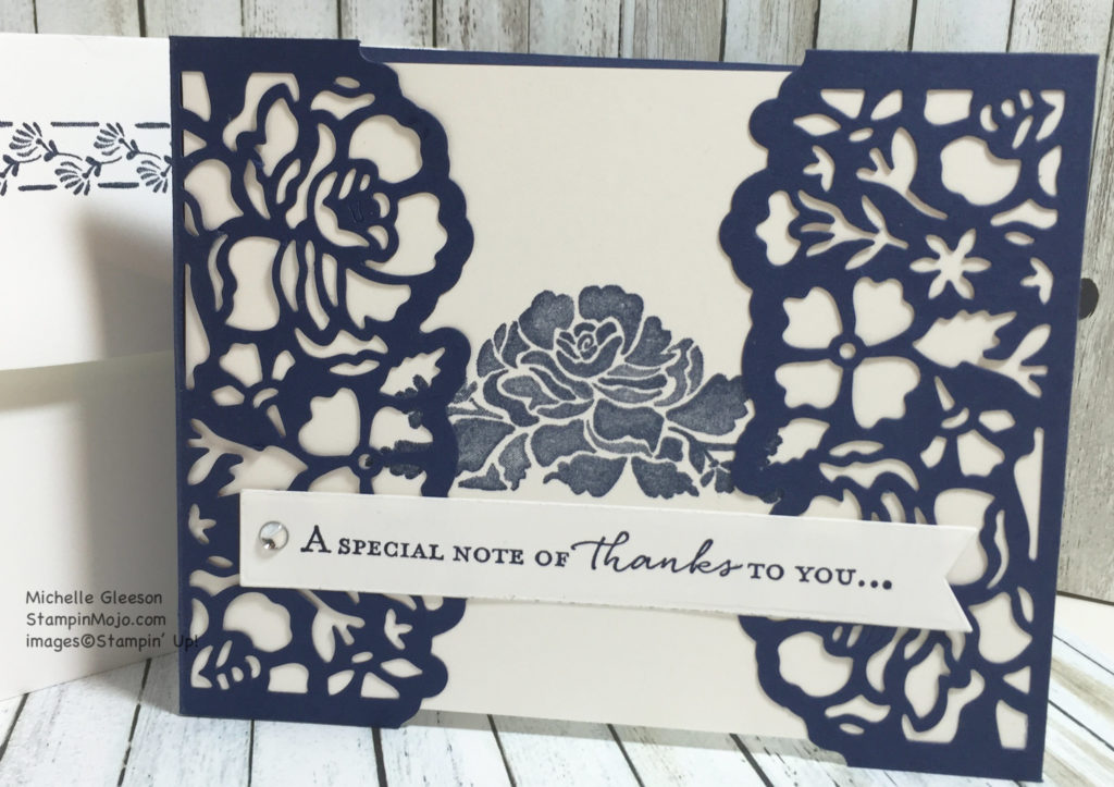 Floral Phrases, , Detailed Floral Thinlits, StampinMojo, Michelle Gleeson