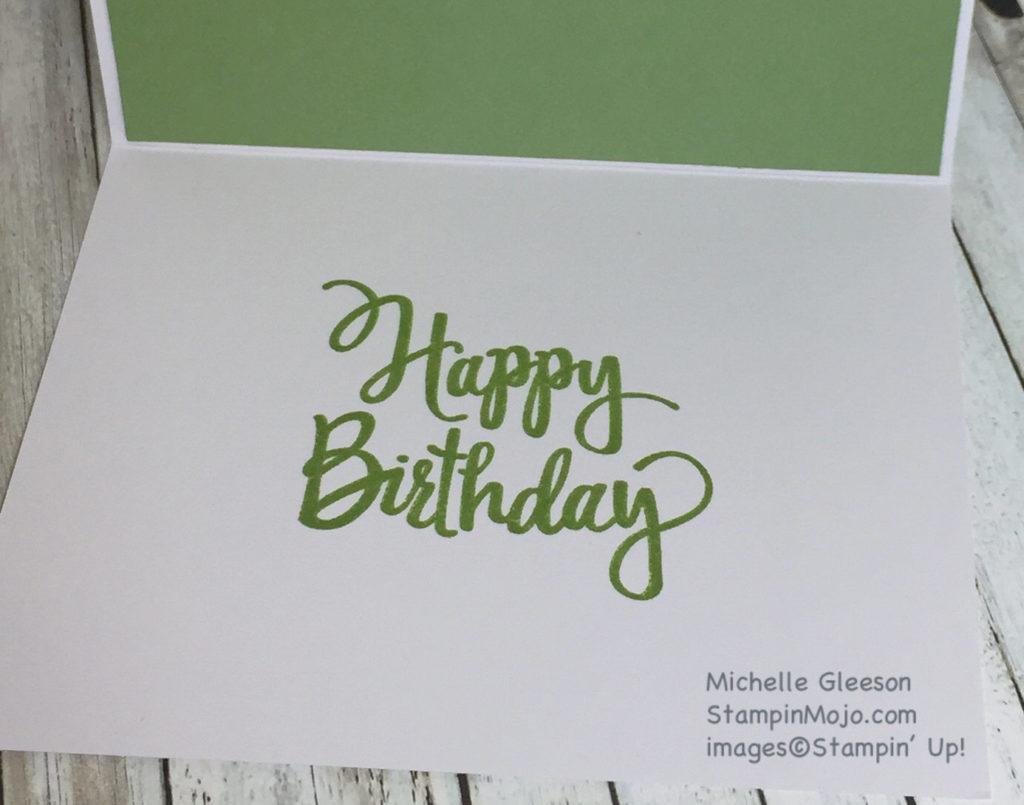 StampinMojo, Stylized Birthday