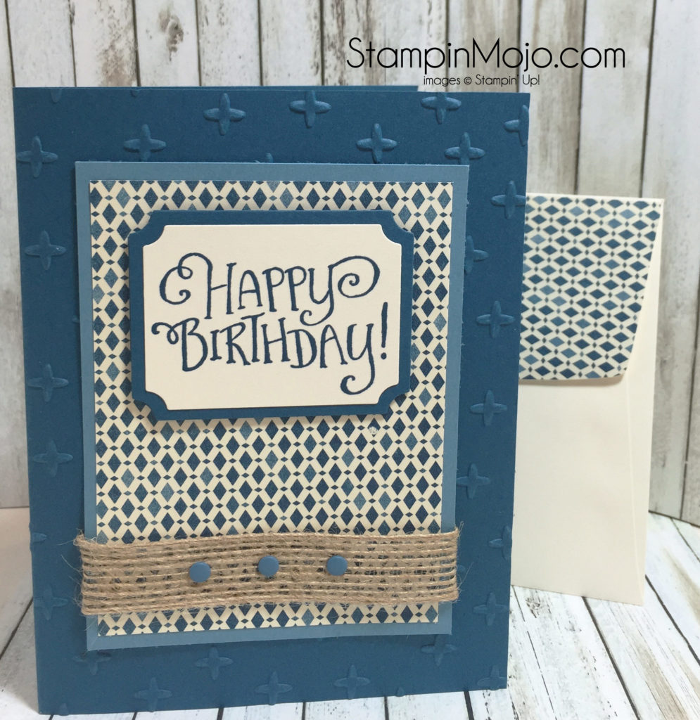 SU, Better Together, Masculine Birthday, Michelle Gleeson, stampinup