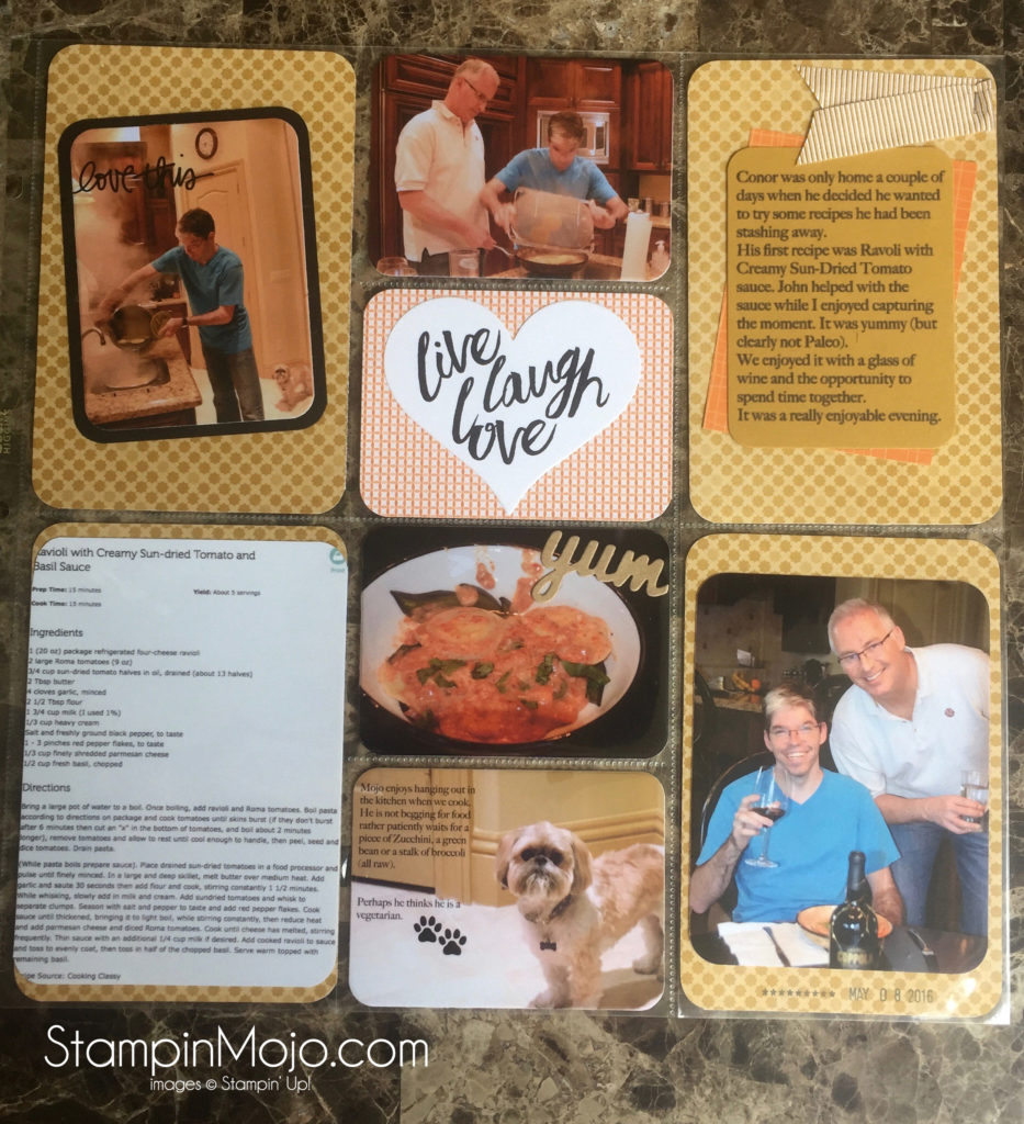 SU, Project Life, Memory Making Monday, Michelle Gleeson, stampinup