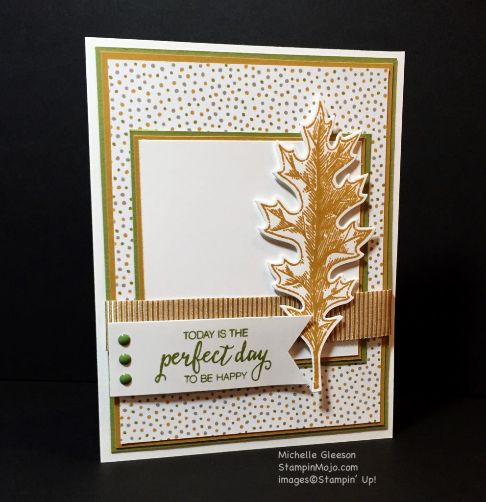 Stampin up, Vintage Leaves, PPA308 - Michelle Gleeson, StampinMojo, SU