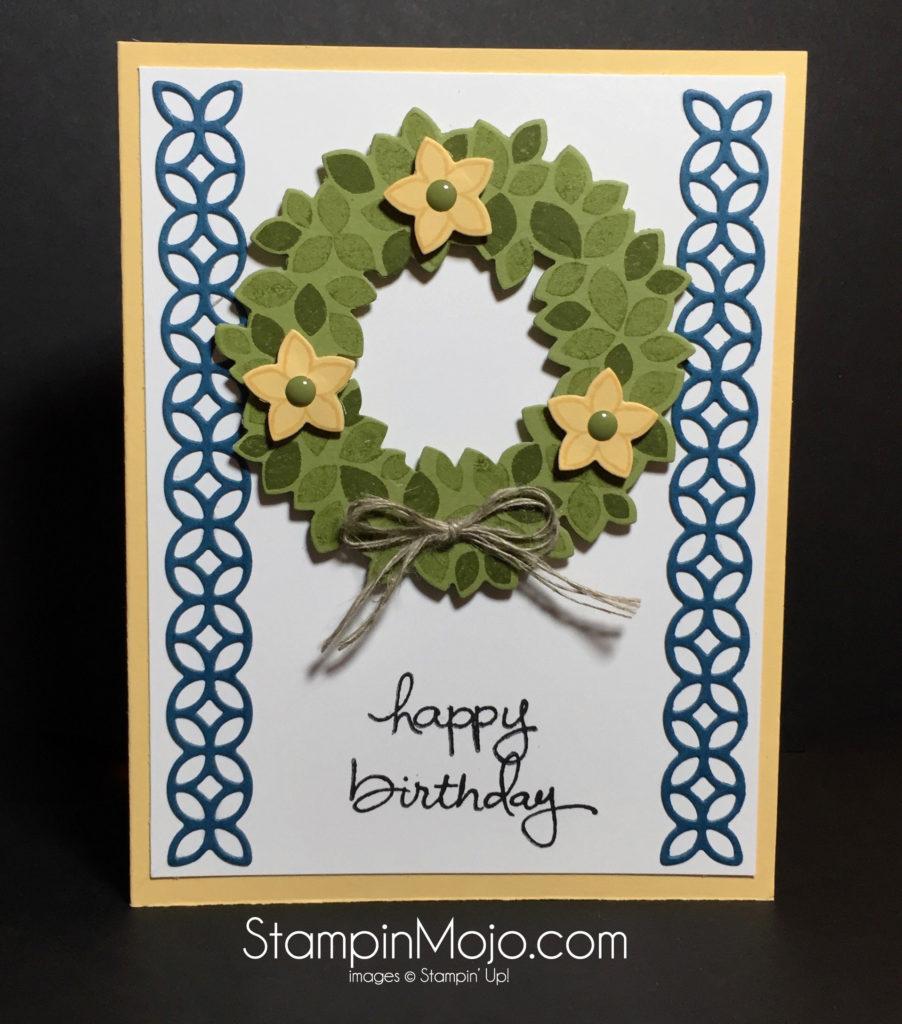 Stampin Up Flourish Thinlits PPA 315- Michelle Gleeson Stampinup
