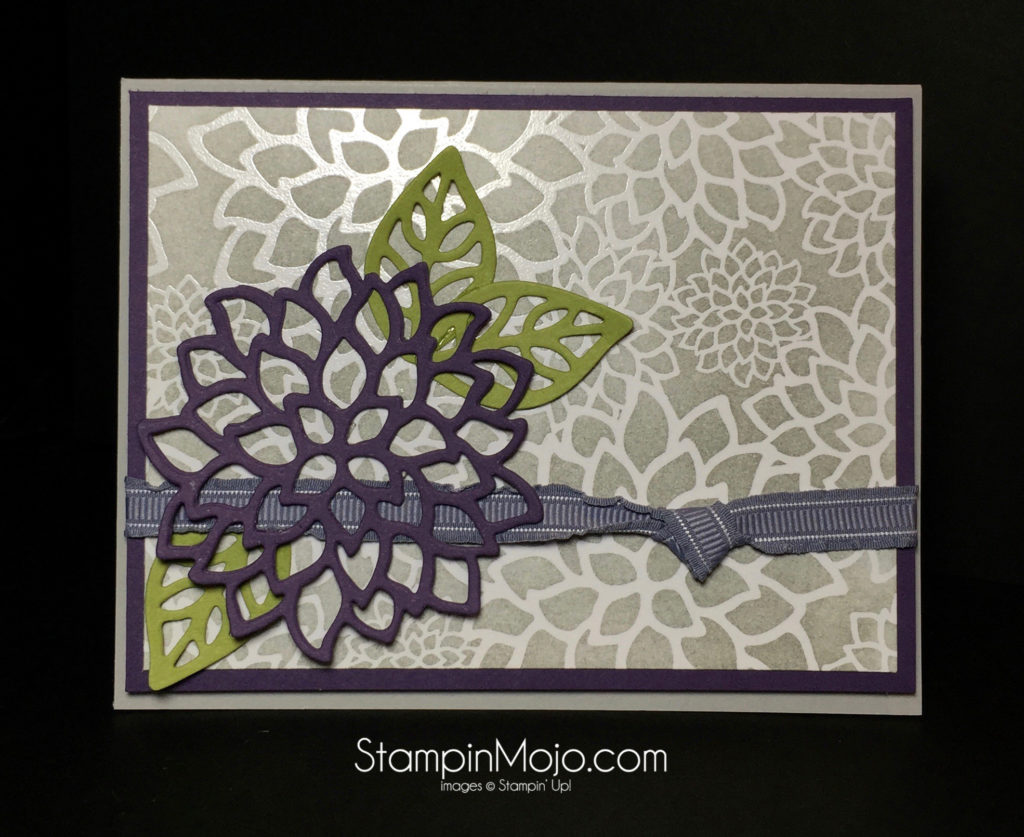 Stampin Up Pals Blog Hop - Michelle Gleeson Irresistibly Floral DSP stampinup