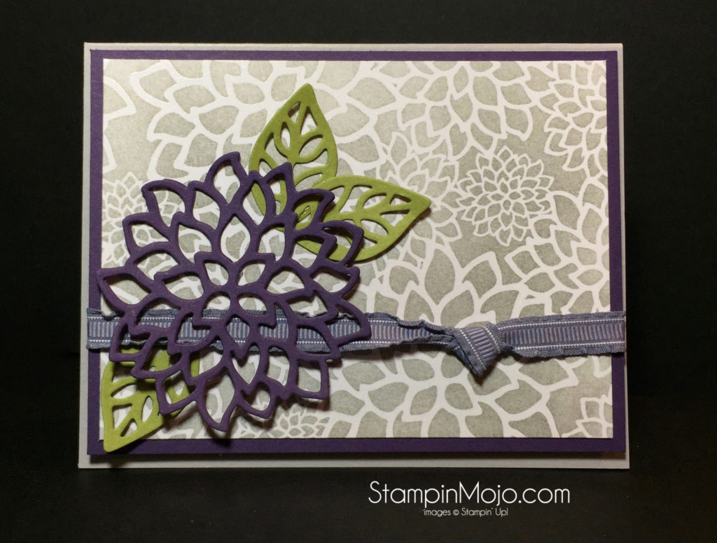 Stampin Up Pals Blog Hop - Michelle Gleeson May Flowers Framelits Stampinup