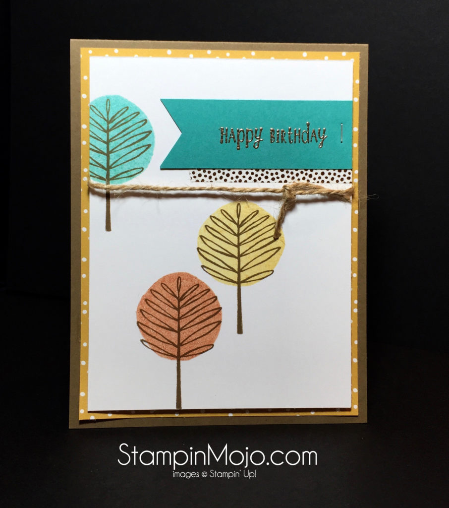 Stampin Up, Totally Trees, Michelle Gleeson Stampinup