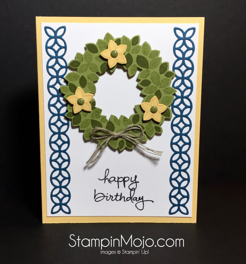 Stampin Up Wondrous Wreath PPA315 - Michelle Gleeson Stampinup