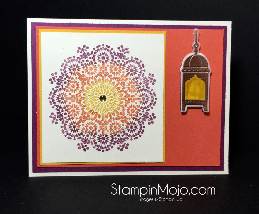 Stampin Up Moroccan Nights PPA 317 - Michelle Gleeson Stampinup