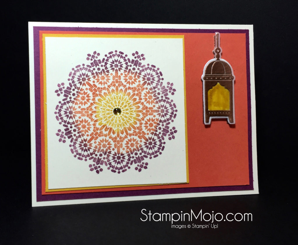 stampin up Moroccan Nights PPA317 Michelle Gleeson stampinup
