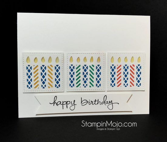 Stampin Up Window Box Thinlit Dies Endless Birthday Wishes Michelle Gleeson Stampinup