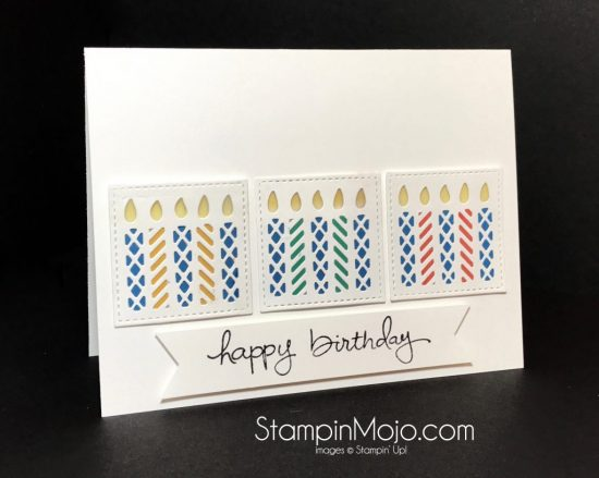 Stampin Up Window Box Thinlits Endless Birthday Wishes Birthday card Michelle Gleeson Stampinup SU