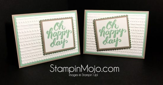 Stampin Up Scenic Sayings Festive Embossing Folder Birthday card Michelle Gleeson Stampinup
