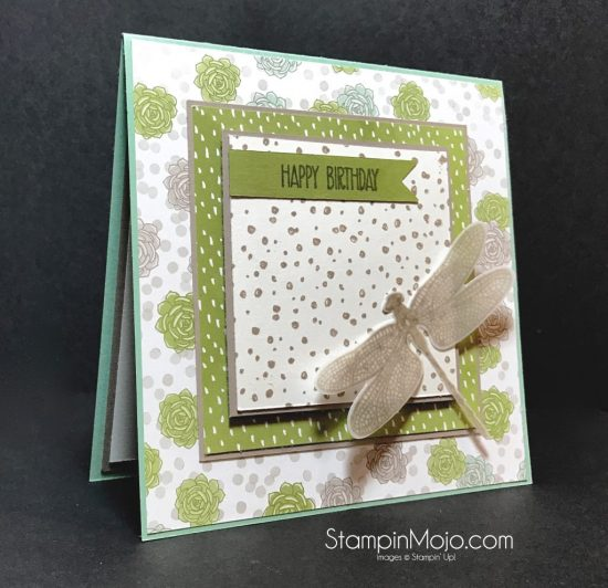 Stampin Up Succulent Garden DSP Dragonfly Dreams Bundle Michelle Gleeson Stampinup SU