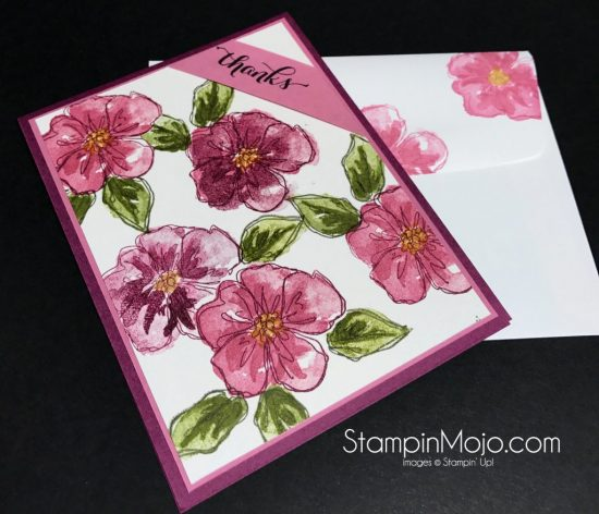 Stampin Up Penned & Painted Another Thank You card ideas Michelle Gleeson Stampinup
