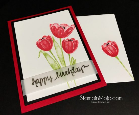 New tranquil tulips stampin mojo stampin up tranquil tulips birthday card ideas michelle gleeson stampinup su bookmarktalkfo Gallery