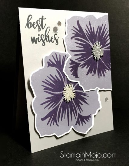 Concord & 9th Pretty Petals Stamp Set and dies Birthday card Michelle Gleeson Stampinmojo