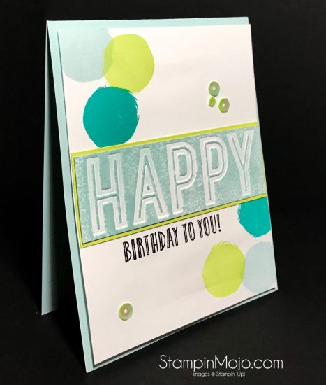 Stampin Up Happy Celebrations Celebration Duo Birthday card Michelle Gleeson Stampinup SU
