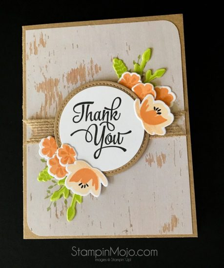 Stampin Up Jar of Love Wood Textures DSP One Big Meaning TTTC005 Michelle Gleeson Stampinup SU