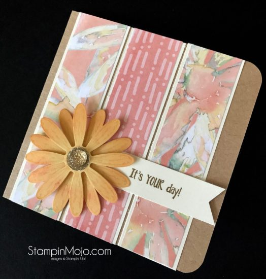 Stampin Up Pals Blog Hop Delightful Daisy DSP Daisy Delight Bundle Birthday Card Idea Michelle Gleeson Stampinup SU