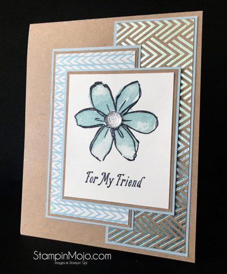 Stampin Up Remarkable InkBig Blog Hop Sparkle Special Celebrations Foil Frenzy DSP Friendship card idea Michelle Gleeson Stampinup SU