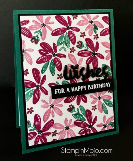WPlus9 Happy Wishes Bundle SU 2017-2019 In-Colors Michelle Gleeson Birthday card idea
