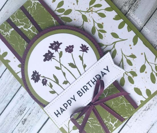 Stampin Up Background Bits Big on Birthdays Merry Little Christmas DSP TTTC011 Birthday card idea Michelle Gleeson Stampinup SU.jpg