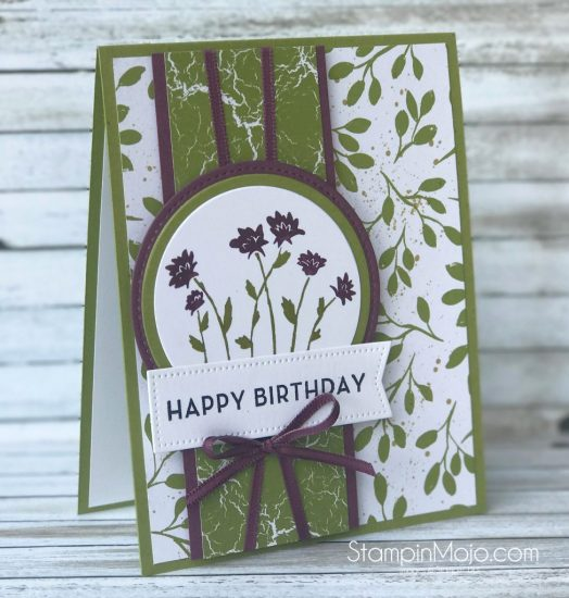 Stampin Up Background Bits Big on Birthdays TTTC011 Birthday card ideas Michelle Gleeson Stampinup SU