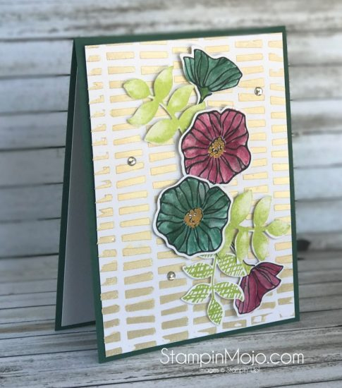 Stampin Up Oh So Eclectic Bundle Embossing Paste Birthday Card Ideas Michelle Gleeson Stampinup SU