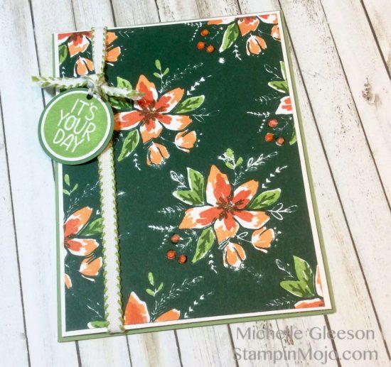 Concord9th Blooms Fill In Birthday Card Idea Michelle Gleeson