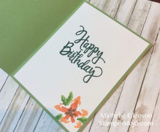 Stampin Up Stylized Birthday Concord9th Blooms Fill In Birthday Card Idea Michelle Gleeson Stampinup SU