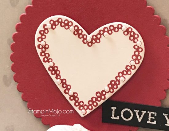 Stampin Up Heart Happiness January 2018 Pals Blog Hop Love Card Michelle Gleeson StampinUp SU