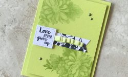Stampin Up Heartfelt Blooms Waterfront Petal Passion DSP Love card idea Michelle Gleeson Stampinup SU