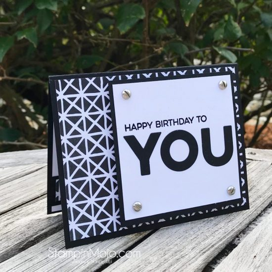 Stampin Up Petal Passion DSP MFT All About You Birthday card idea Masculine card Michelle Gleeson Stampinup SU MFT