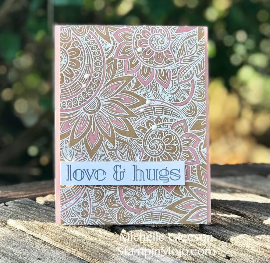 SSS Ornate background stamp, SSS Big Greetings 1, #casingyanasmakula, Michelle Gleeson