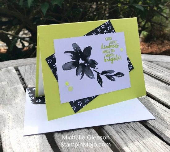 Stampin Up Petal Passion Memories and More Friendship Card Idea Michelle Gleeson Stampinup SU