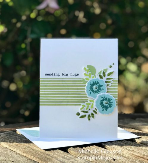 StampinMojo Michelle Gleeson Thinking of You card ideas