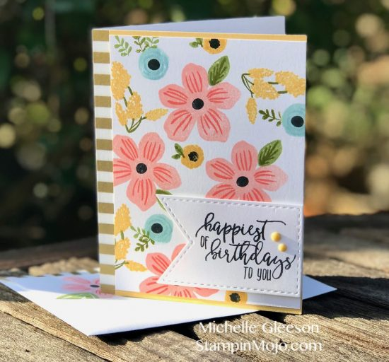 WPlus9 Southern Floral 2 Stampin Up Picture Perfect Birthday Birthday Card Ideas Michelle Gleeson StampinMojo