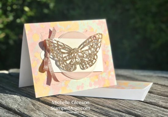 Stampin Up Abstract Impressions DSP Springtime Impressions Thinlits Anytime card idea Michelle Gleeson Stampinup SU .jpg